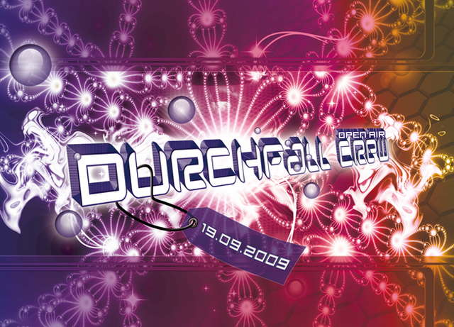 Party Flyer ‹(•¿•)› - DURCHFALL-CREW OA - ‹(•¿•)› 19 Sep '09, 20:00