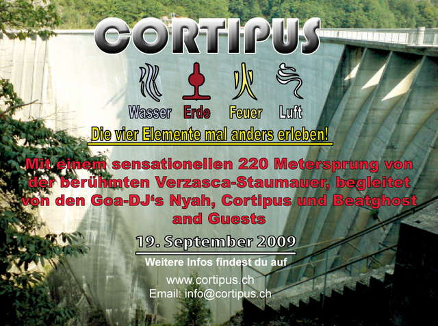 Party Flyer JUMP AND FLY AND ORGANIC 19 Sep '09, 10:00