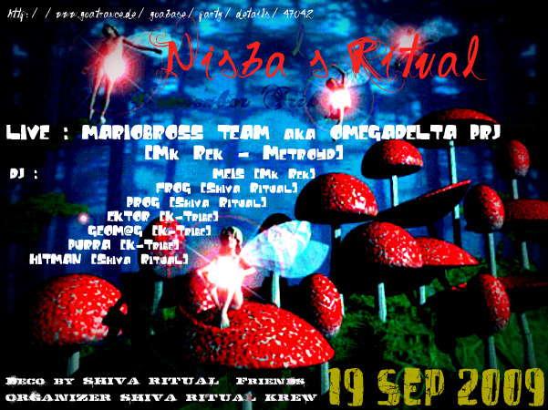 Party Flyer ___[ NiSbA Ritu@l ]-------(4 remember Trik)___ 19 Sep '09, 23:30