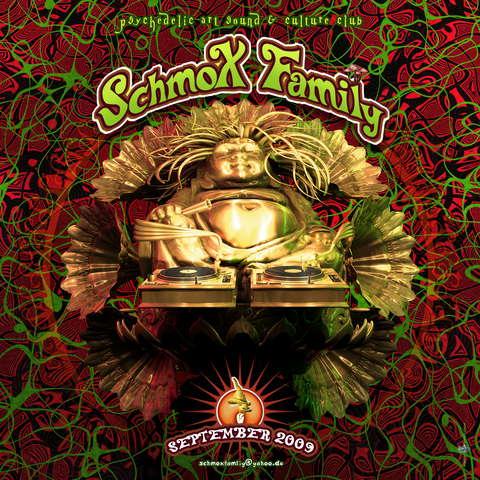 Party Flyer SchmoXFamily Club -Progressive Tunes Vol.4- 26 Sep '09, 23:00