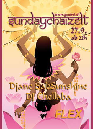 Party Flyer SundayChaiZelt reOpening after the SummerBreak 27 Sep '09, 22:00