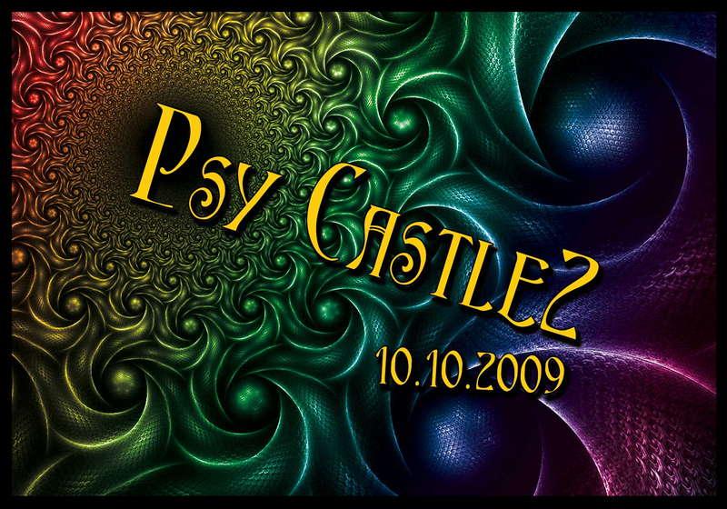 Party Flyer Psy Castle II 10 Oct '09, 22:00