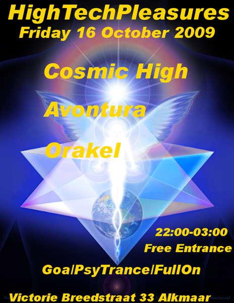 Party Flyer HighTechPleasures 16 Oct '09, 22:00