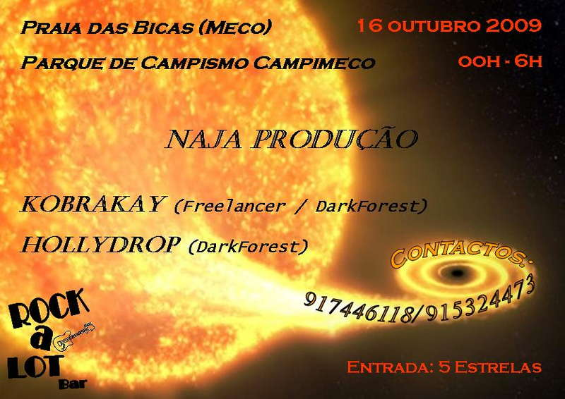 Party Flyer HOLLYDROP BIRTHDAYPARTY 16 Oct '09, 22:00