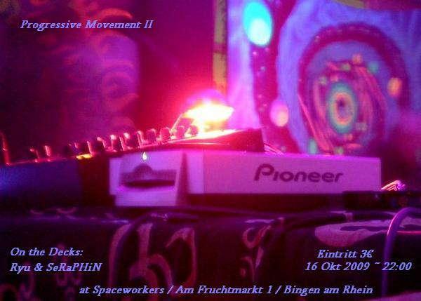 Party Flyer Progressive Movment II 16 Oct '09, 22:00