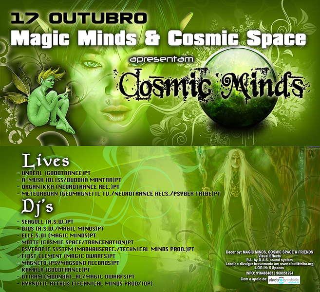 COSMIC MINDS 17 Oct '09, 23:00