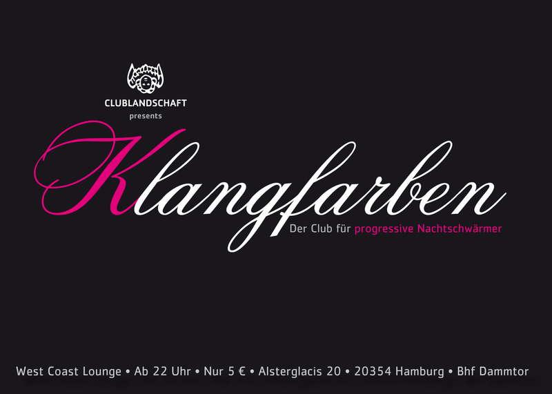 Party Flyer ! KLANGFARBEN - club opening 23 Oct '09, 22:00