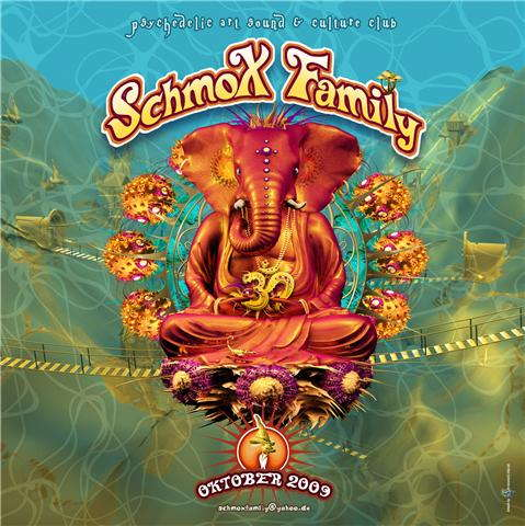 Party Flyer SchmoXFamily Club - SchmoXified - The Prog Edition - 24 Oct '09, 23:00
