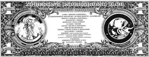 Party Flyer PSYSUNDAYS... (FREE N TRANCE!!!) 25 Oct '09, 22:00