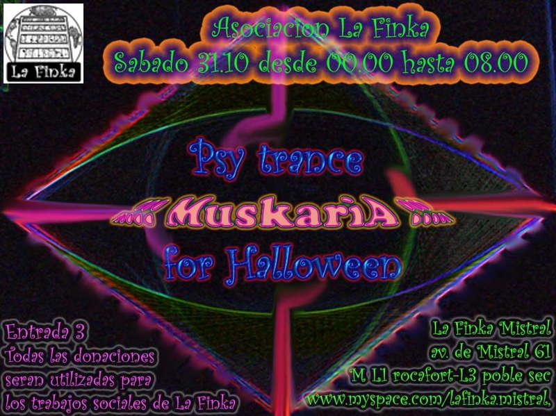 Party Flyer La Finka - Psy Trance for Halloween 31 Oct '09, 23:30