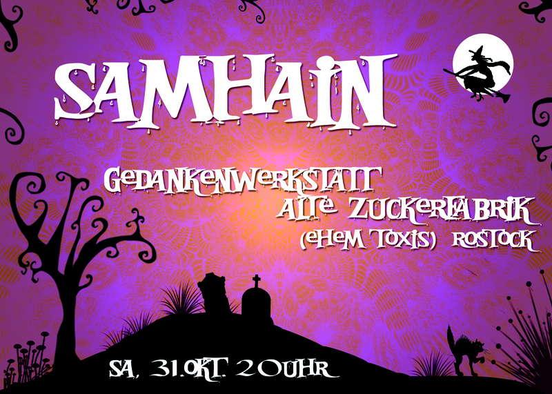 Party Flyer SAMHAIN 2009 31 Oct '09, 22:00