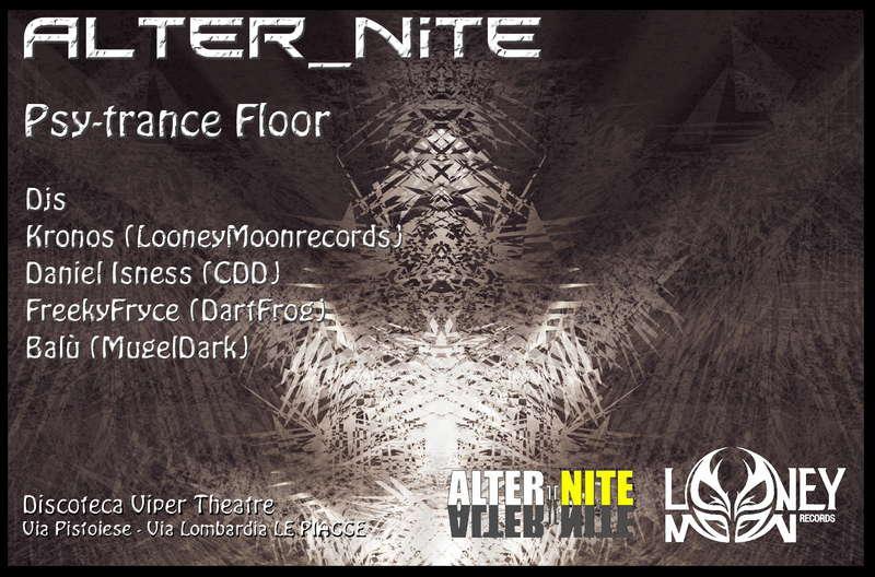 Party Flyer ::::: ALter_nite @Viper Theater :::: 13 Nov '09, 22:00