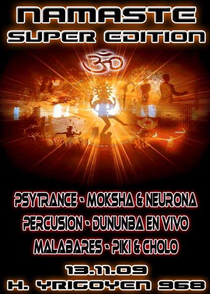 Party Flyer Namaste Super Edition 13 Nov '09, 23:30