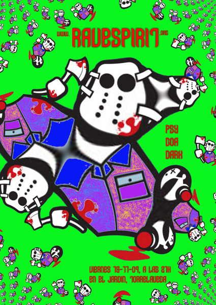 Party Flyer ravespirit@jardin 13 Nov '09, 21:00