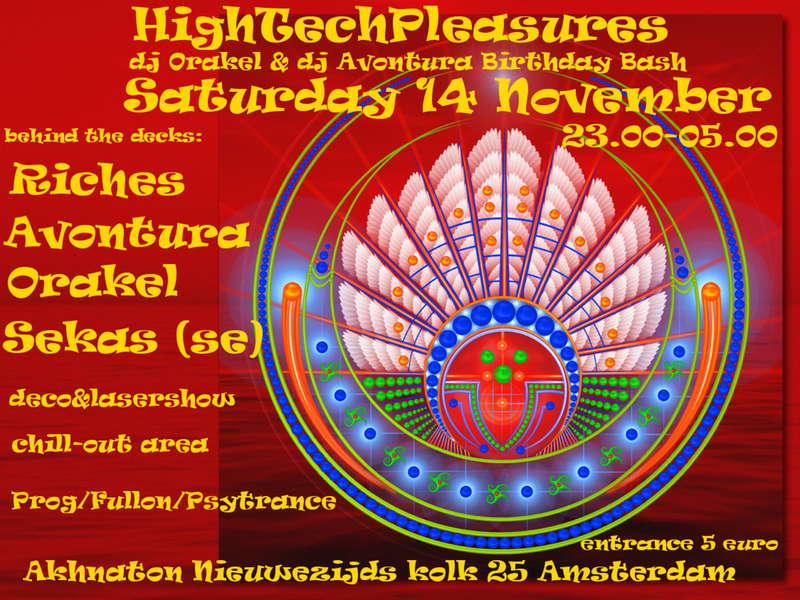 Party Flyer HighTechPleasures 14 Nov '09, 23:00