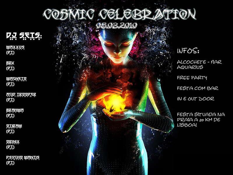 cosmic celebration 5 Mar '10, 22:00