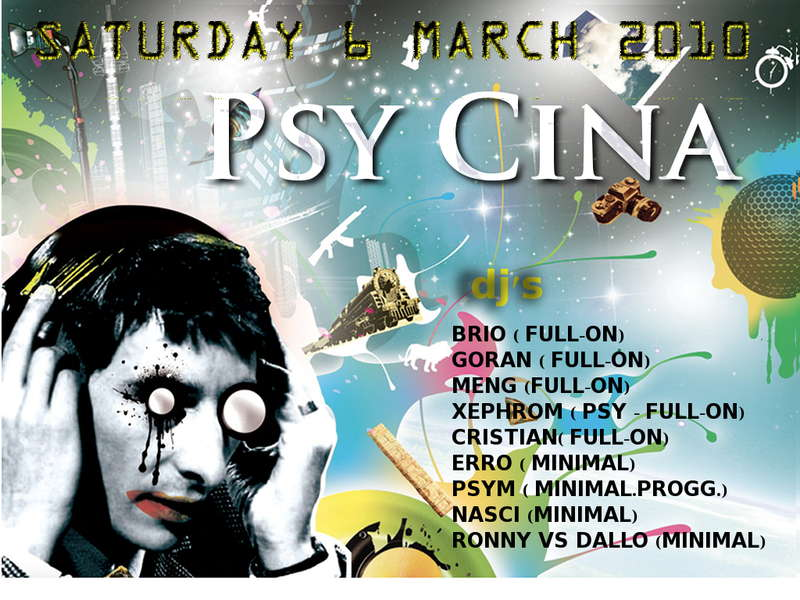PSY CINA 6 Mar '10, 23:00