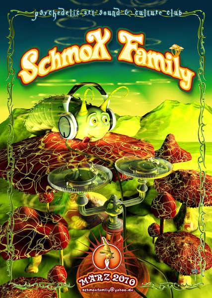 Party Flyer SchmoXFamily Club Speedys B-Day ATMA und S-Range LIVE 6 Mar '10, 23:00