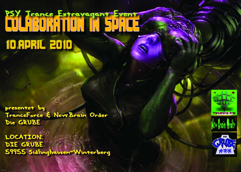 COLABORATION IN SPACE 10 Apr '10, 22:00