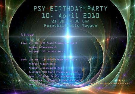 Psy Birthday Party 10 Apr '10, 21:00