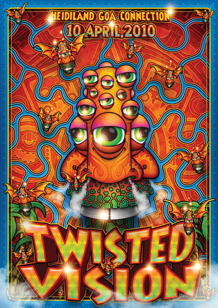 Twisted Vision 10 Apr '10, 21:00
