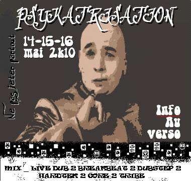 Party Flyer psykatrization 15 May '10, 22:00