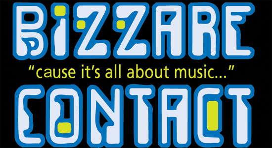 Party Flyer BIZZARE CONTACT Live ((( ISRAEL ))) @ NEW DELHI 16 May '10, 22:00