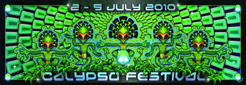 Party Flyer CALYPSO FESTIVAL 2 Jul '10, 22:00
