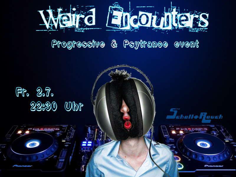 Party Flyer Weird Encounters 2 Jul '10, 22:30