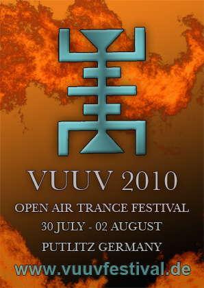 Party Flyer VuuV Festival 2010 30 Jul '10, 22:00