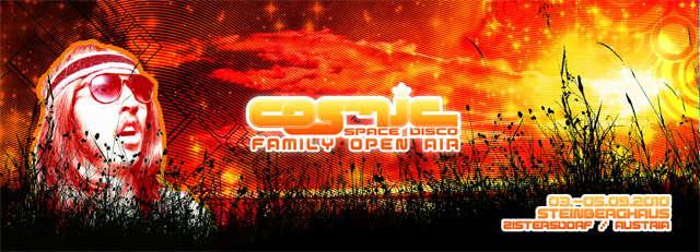 COSMIC - family open air 3 Sep '10, 22:00