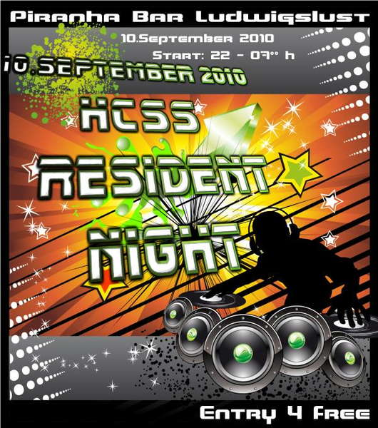 HCSS Resident Night 2010 10 Sep '10, 22:00