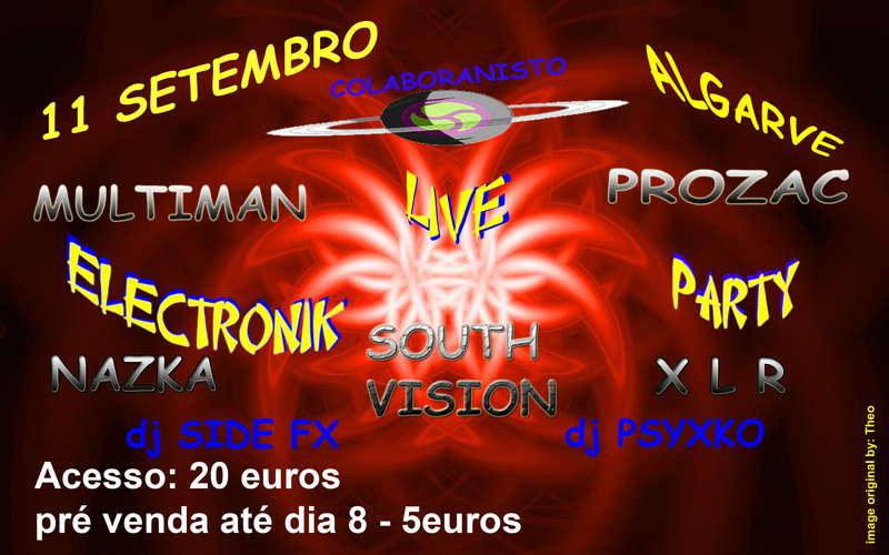 Party Flyer NOSTRADAMUS Party@ Algarve 11 Sep '10, 22:00