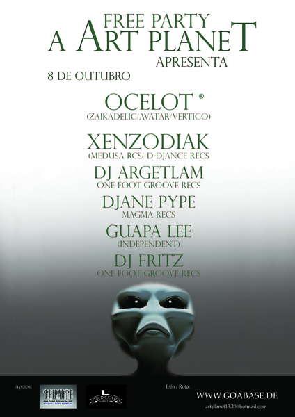 ART PLANET 8 Oct '10, 23:00