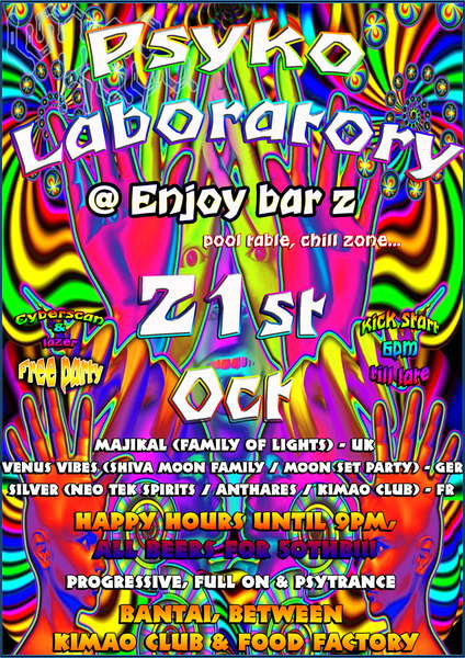 PSYKO LABORATORY 21 Oct '10, 18:00