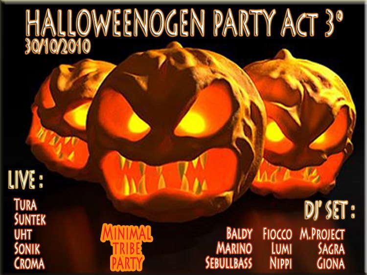 - HALLOWEENOGEN Party - Act 3° _- Free Party - _ 30 Oct '10, 23:30