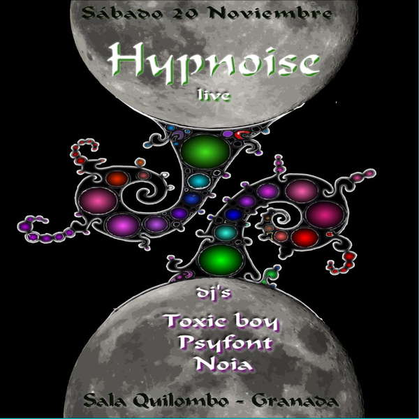 Party Flyer Fullmoongui - Quilombo IV - HYPNOISE 20 Nov '10, 23:30