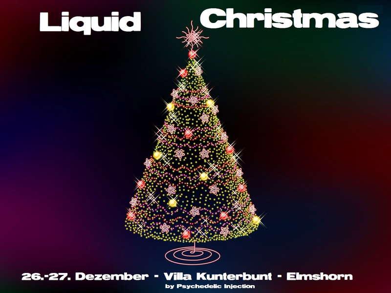 Party Flyer Liquid Christmas - Weihnachtsgoa 26 Dec '10, 20:00