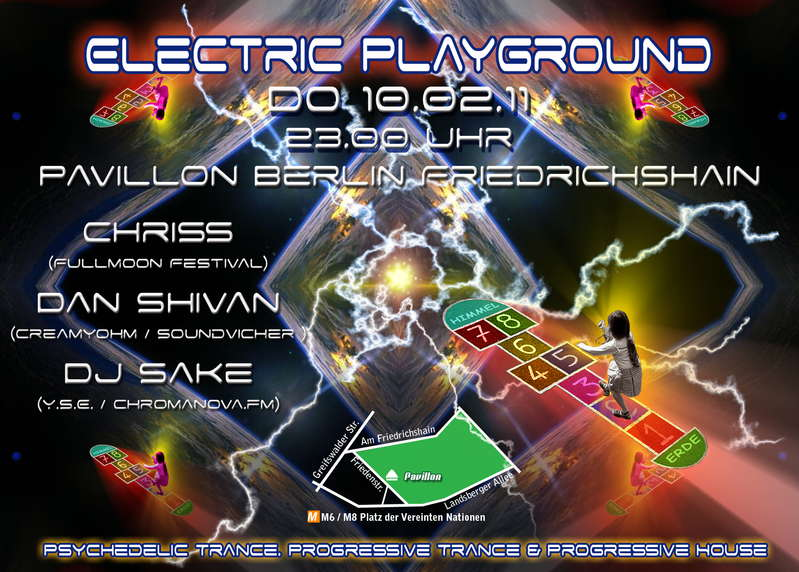 Party Flyer Electric Playground #9 10 Feb '11, 23:00