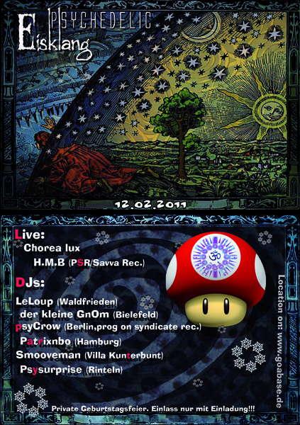 Psychedelic Eisklang 12 Feb '11, 23:00