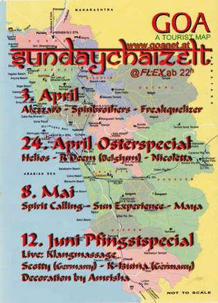 Party Flyer SundayChaizelt SPRING 3 Apr '11, 22:00