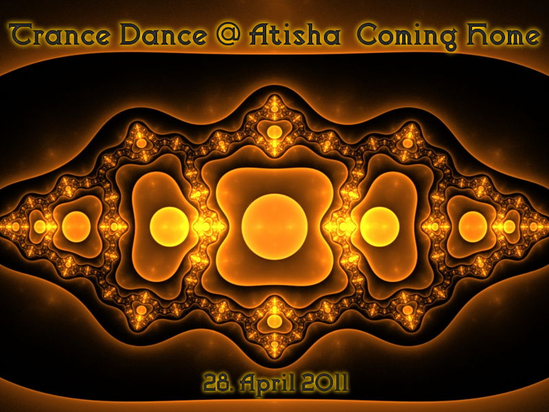 Party Flyer TranceDance @ Atisha | COMING HOME 28 Apr '11, 19:00