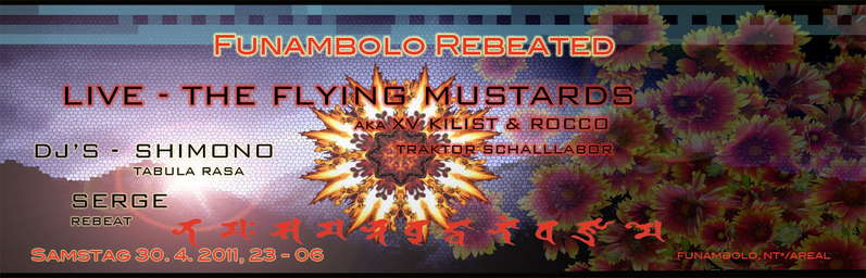 Party Flyer FUNAMBOLO REBEATED 30 Apr '11, 23:00