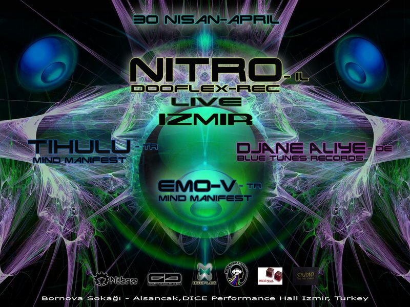 Party Flyer NITRO LIVE @ IZMIR 30 Apr '11, 22:00