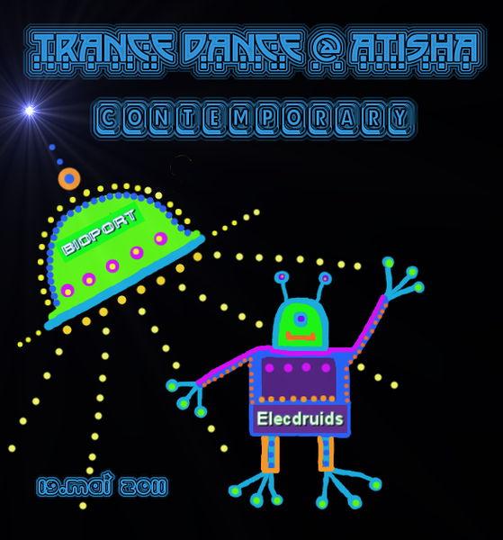 Party Flyer TranceDance @ Atisha | CONTEMPORARY 19 May '11, 20:00