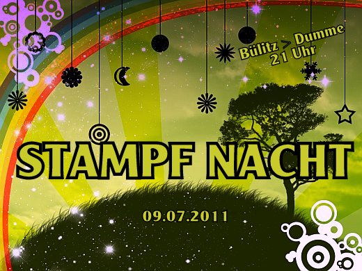 Party Flyer STAMPF NACHT 9 Jul '11, 21:00