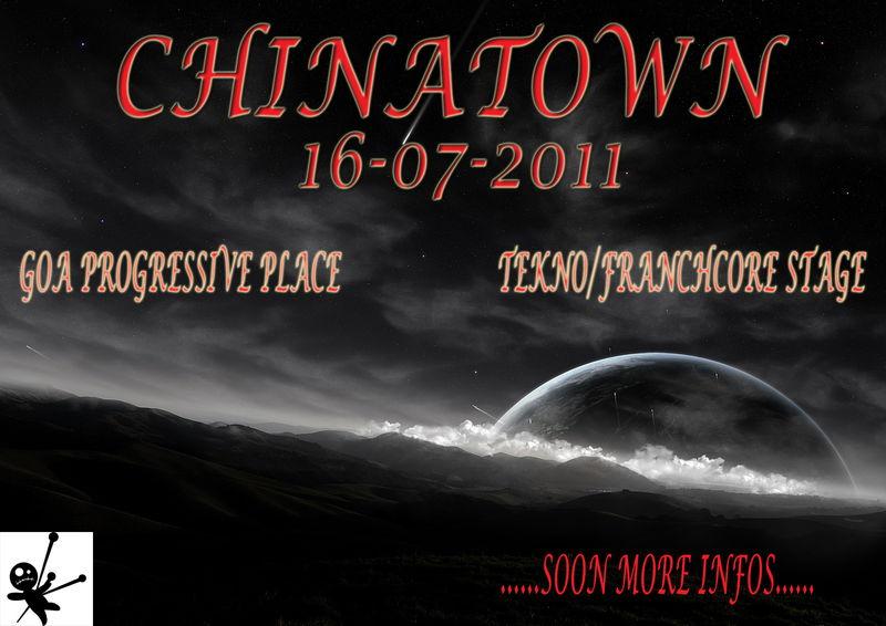 Party Flyer > C.H.I.N.A.T.O.W.N < Free progressive experience > 16 Jul '11, 23:00