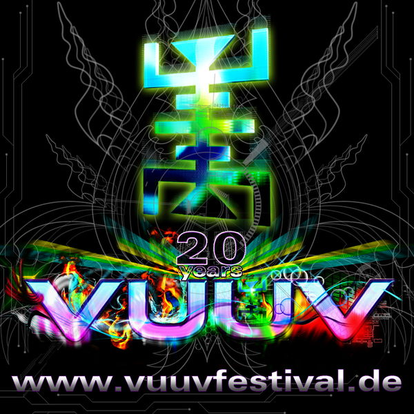 Party Flyer VuuV Festival 2011 - 20 years of fine psy trance 22 Jul '11, 22:00