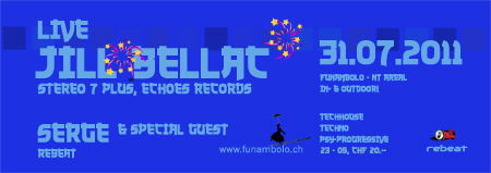 Party Flyer FUNAMBOLO REBEATED 31 Jul '11, 23:00