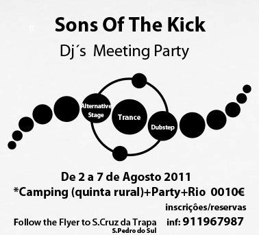 Party Flyer Sons Of The Kick 2 Aug '11, 23:30